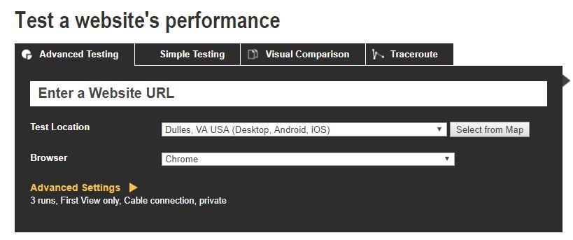 網站速度如何檢測?網站速度檢測推薦- WebPageTest